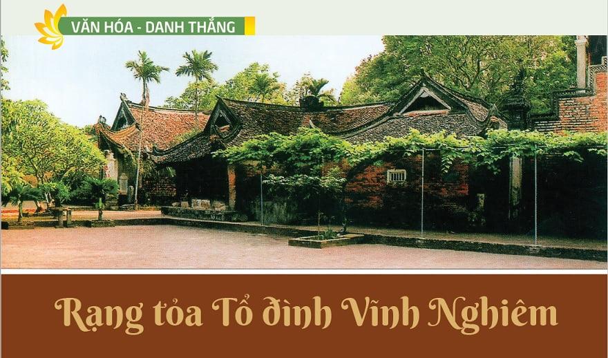 Tap chi Nghien cuu Phat hoc Rang toa To dinh Vinh Nghiem 1