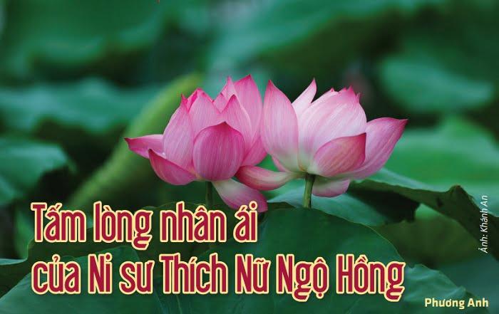 Tap chi nghien cuu phat hoc So thang 7.2017 Tam long nhan ai cua Ni su Thich Nu Ngo Hong 1