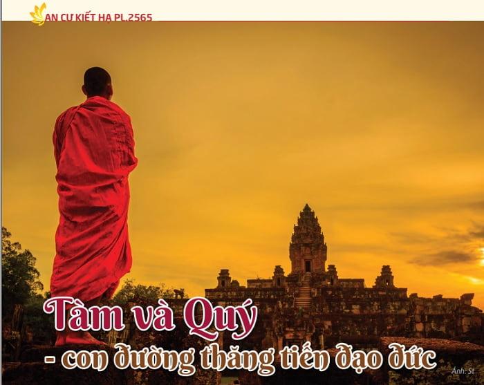 Tap chi Nghien cuu Phat hoc So thang 7.2021 Tam va Quy con duong thang tien dao duc 1