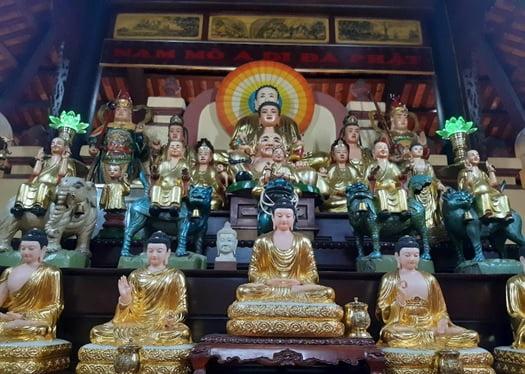 Tap chi Nghien cuu Phat hoc Tim hieu bo tuong ngu vi chua Phung Son 1