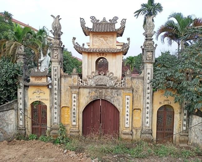Tap chi Nghien cuu Phat hoc Khao sat dac diem mot so ngoi chua o huyen Vinh Tuong Vinh Phuc 2
