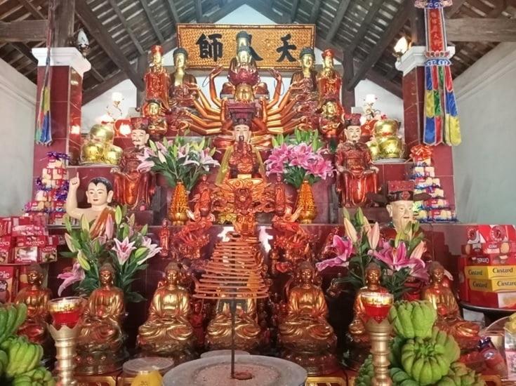 Tap chi Nghien cuu Phat hoc Khao sat dac diem mot so ngoi chua o huyen Vinh Tuong Vinh Phuc 4