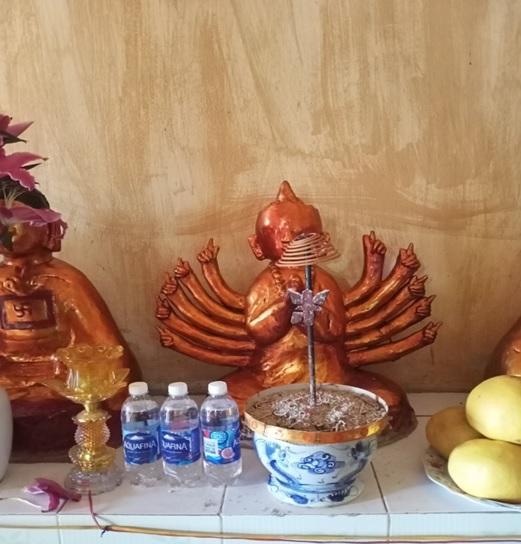 Tap chi Nghien cuu Phat hoc Khao sat dac diem mot so ngoi chua o huyen Vinh Tuong Vinh Phuc 6