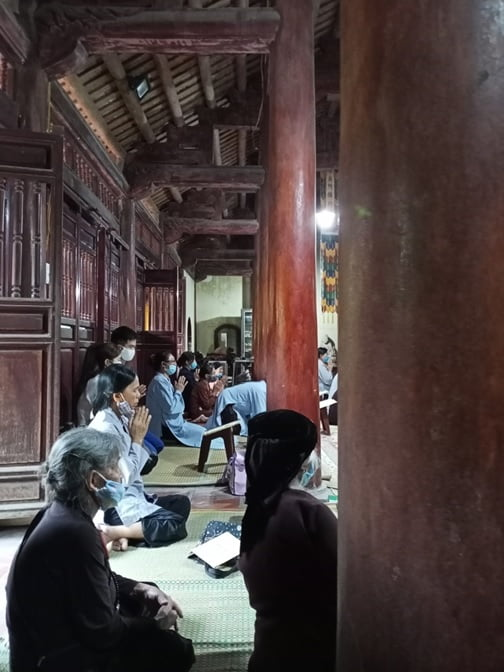 Tap chi Nghien cuu Phat hoc Khao sat dac diem mot so ngoi chua o huyen Vinh Tuong Vinh Phuc 7